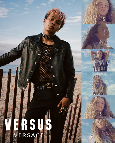 """""""LET'S GET REAL"""" by VERSUS VERSACE SS18 Campaign"""
