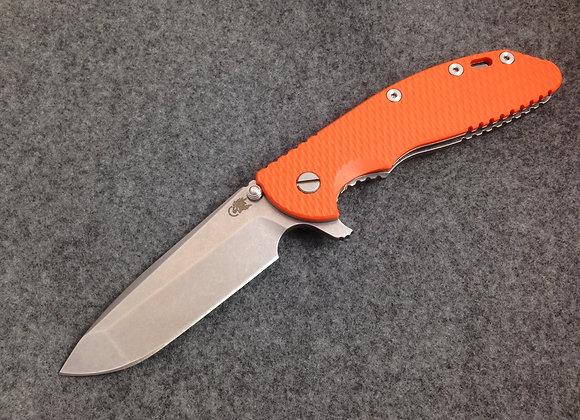 """Hinderer XM-24 4"""" Spanto Blade Flipper ORANGE G10"""