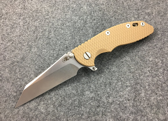 "Hinderer XM-18 3.5"" Wharncliffe Fatty Coyote G10 Bronze Ti"