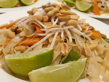 FODMAP friendly Pad Thai