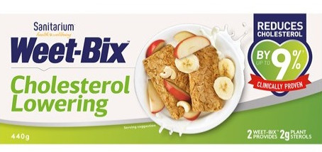 Worth its weight in Weetbix? A review of cholesterol-lowering Weetbix.