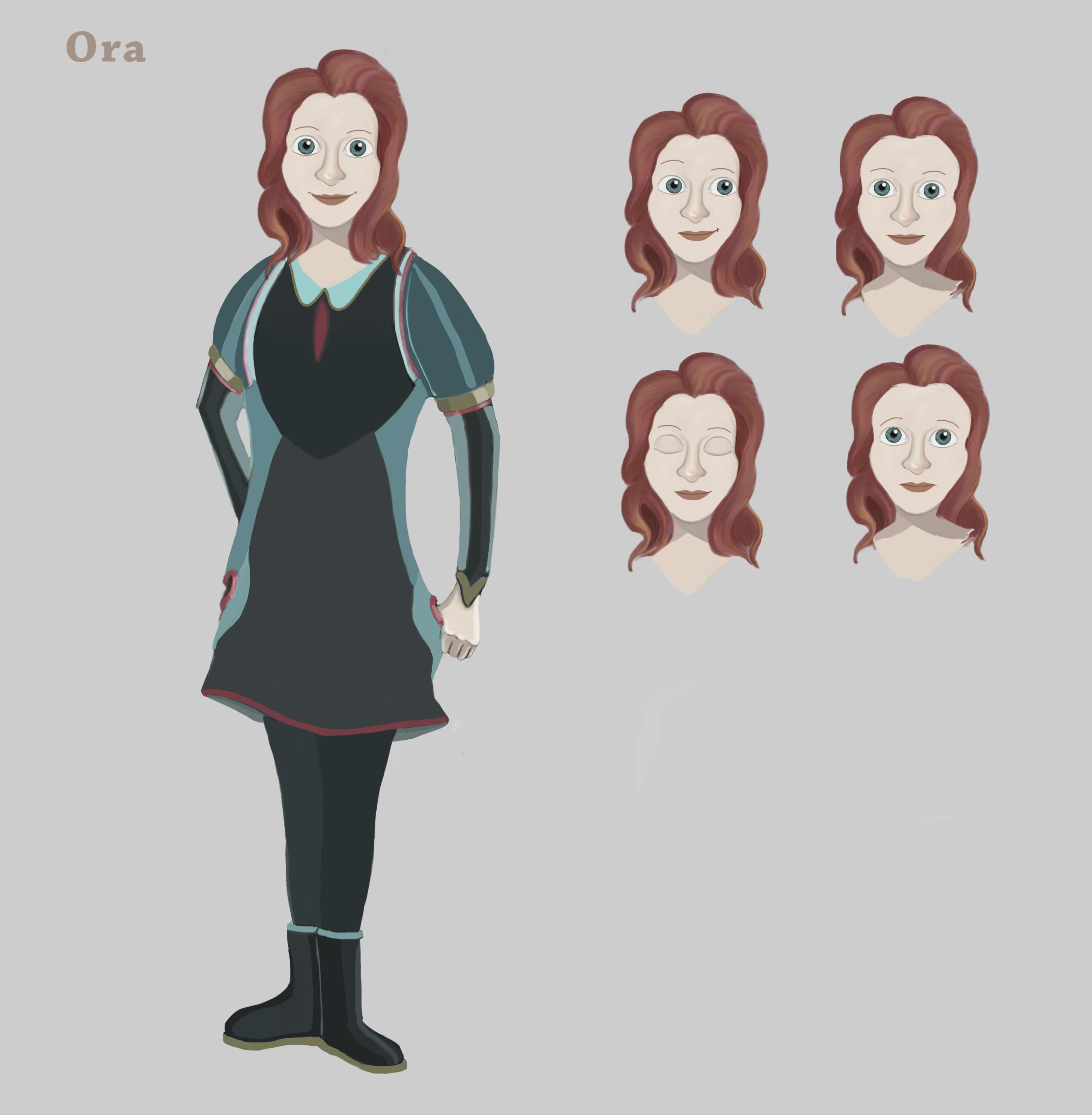 Ora character sheet