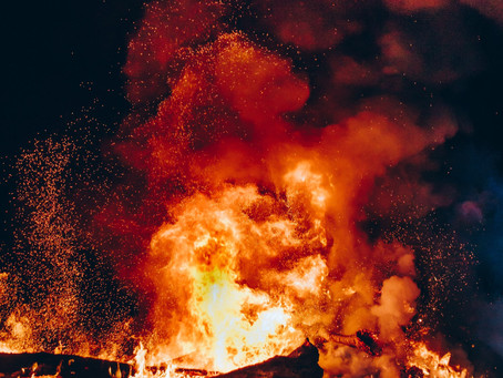 Massive fires in California / Énormes incendies en Californie