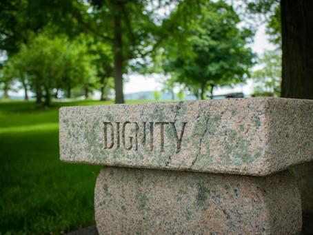 Dignity has been dealt a severe blow / Un rude coup a été porté à la dignité