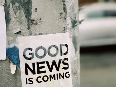 Hoping for good news /                     En espérant avoir de bonnes nouvelles