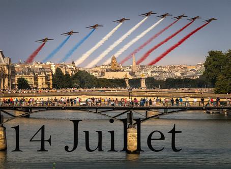 Happy Bastille Day! /                       Bon 14 juillet !