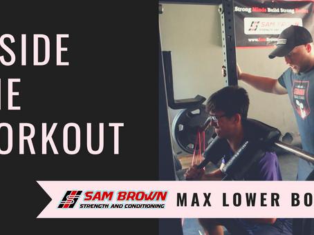 Inside the Workout: Max Effort Lower (Vid)