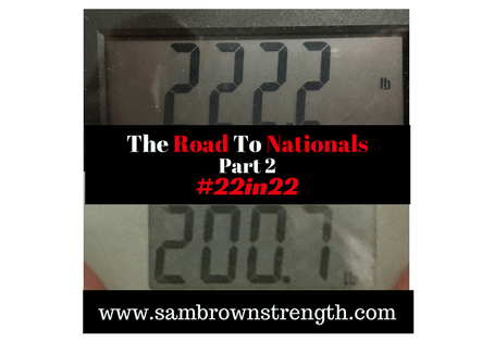 Road to Nationals 2017 #22in22 (Part 2)
