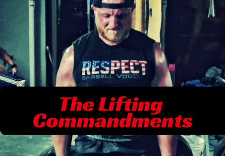The 14 Commandments of Lifting