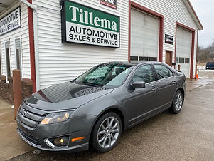 2012 Ford Fusion AWD