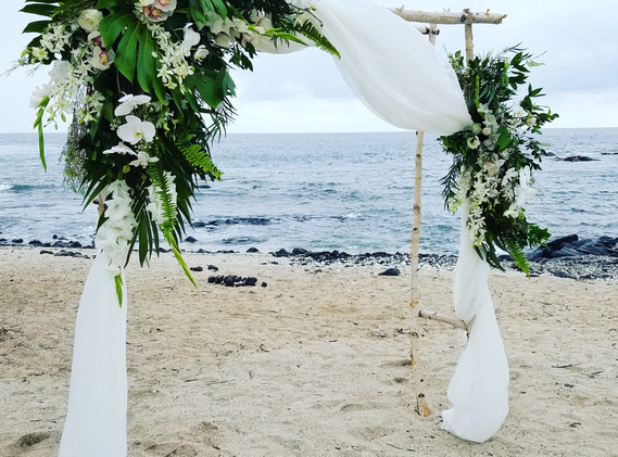 Beach side arch Coordination by Jots of Thoughts
