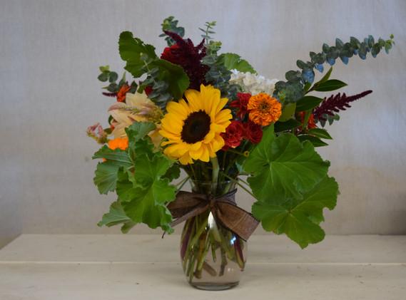 small cheery arrangement