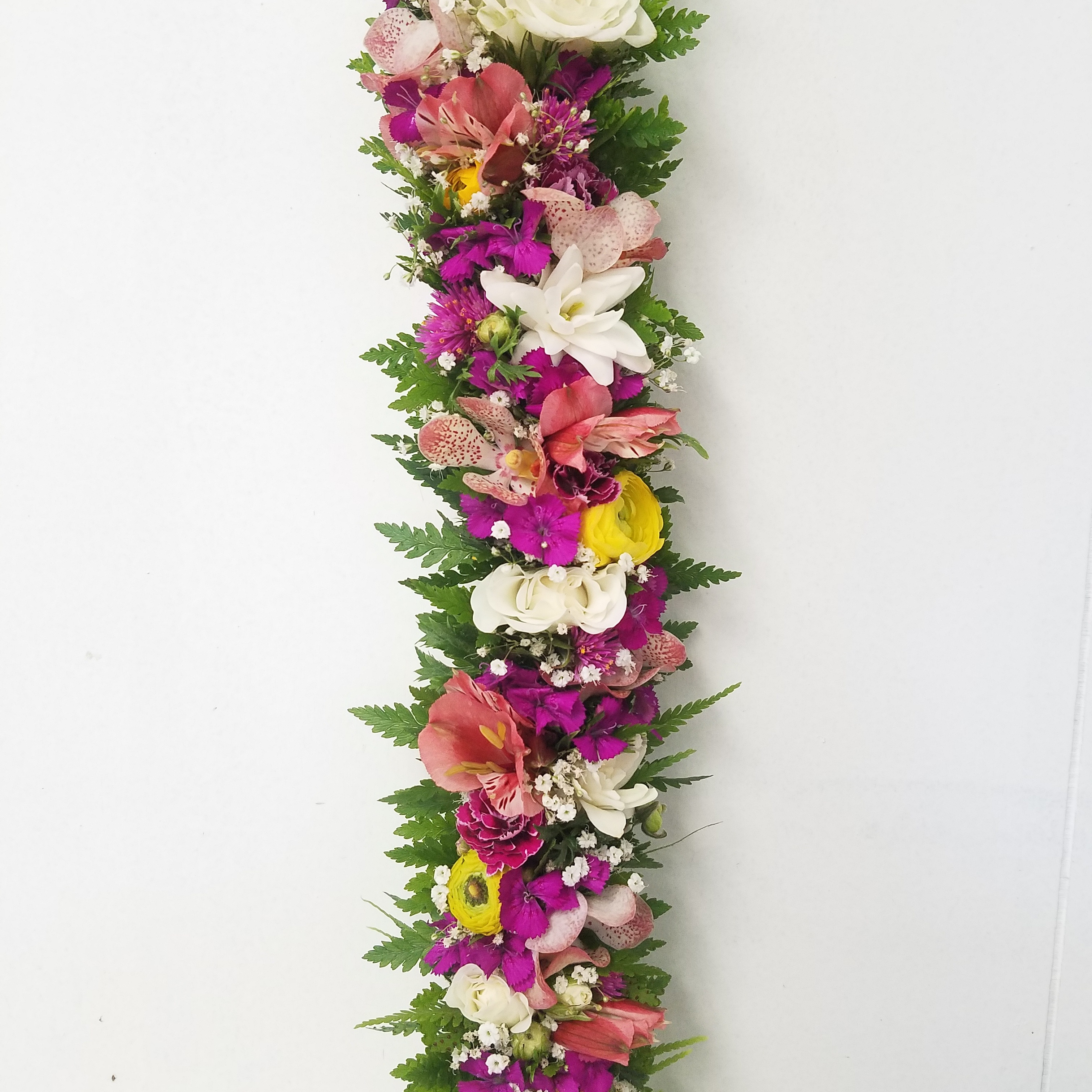 Lei Poo In Purples Pinks Whites And Yellows