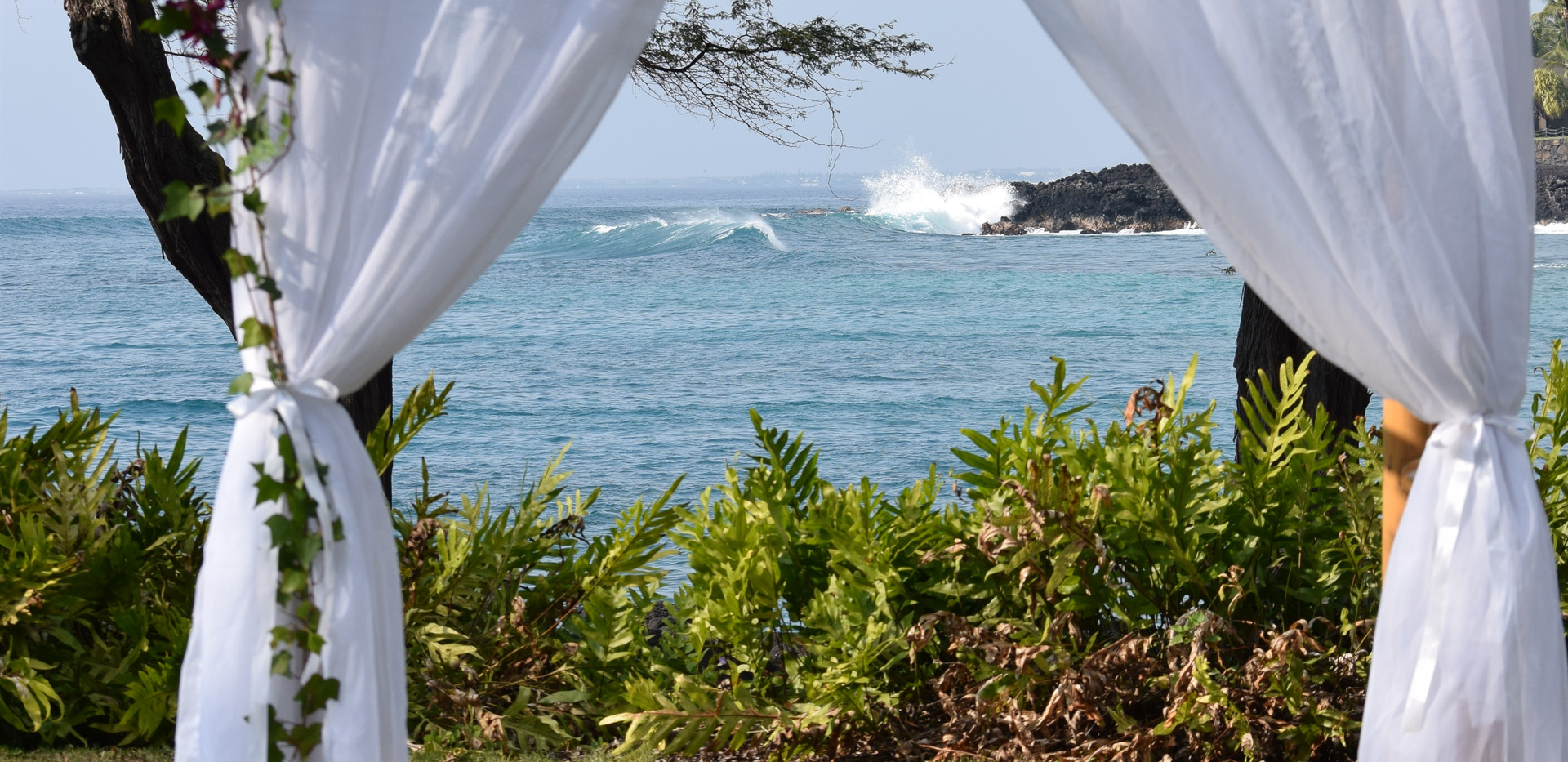 Curtain style arch