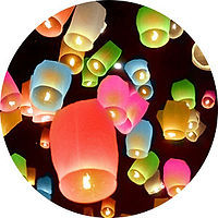 Chinese lanterns for weddings and events