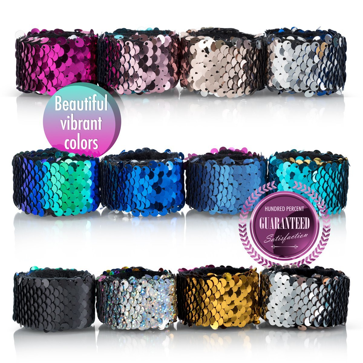 SLAP MERMAID SEQUIN BRACELETS