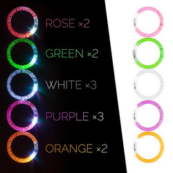 led bracelet party glow in the dark
