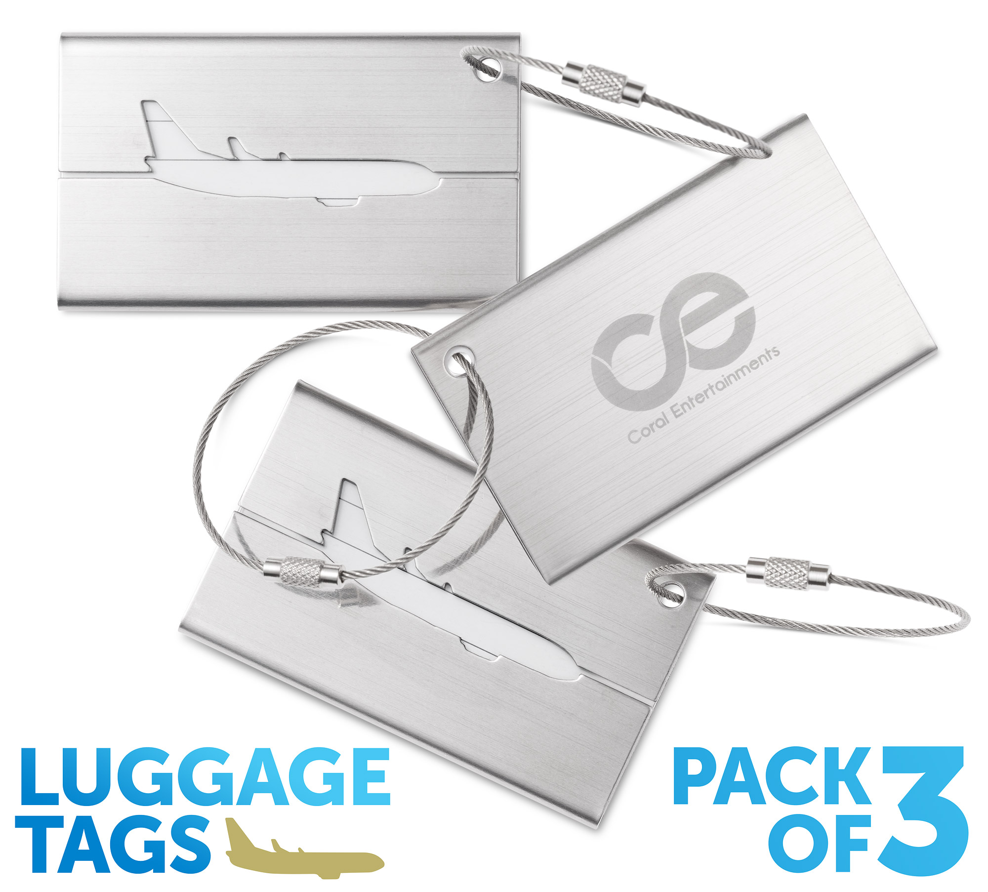Luggage tags, id tags, travel tags C