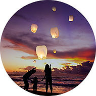 CHINES LANTERNS SKY HIGH FLYFLYIN LATERNS WEDDING anniversary BIRTHDY MEMORIL FIRE FLOATING