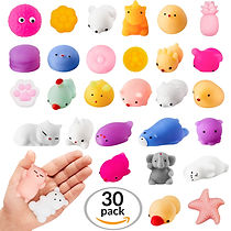 squishis strees relief slow rising bulk toys party favors goodie bags