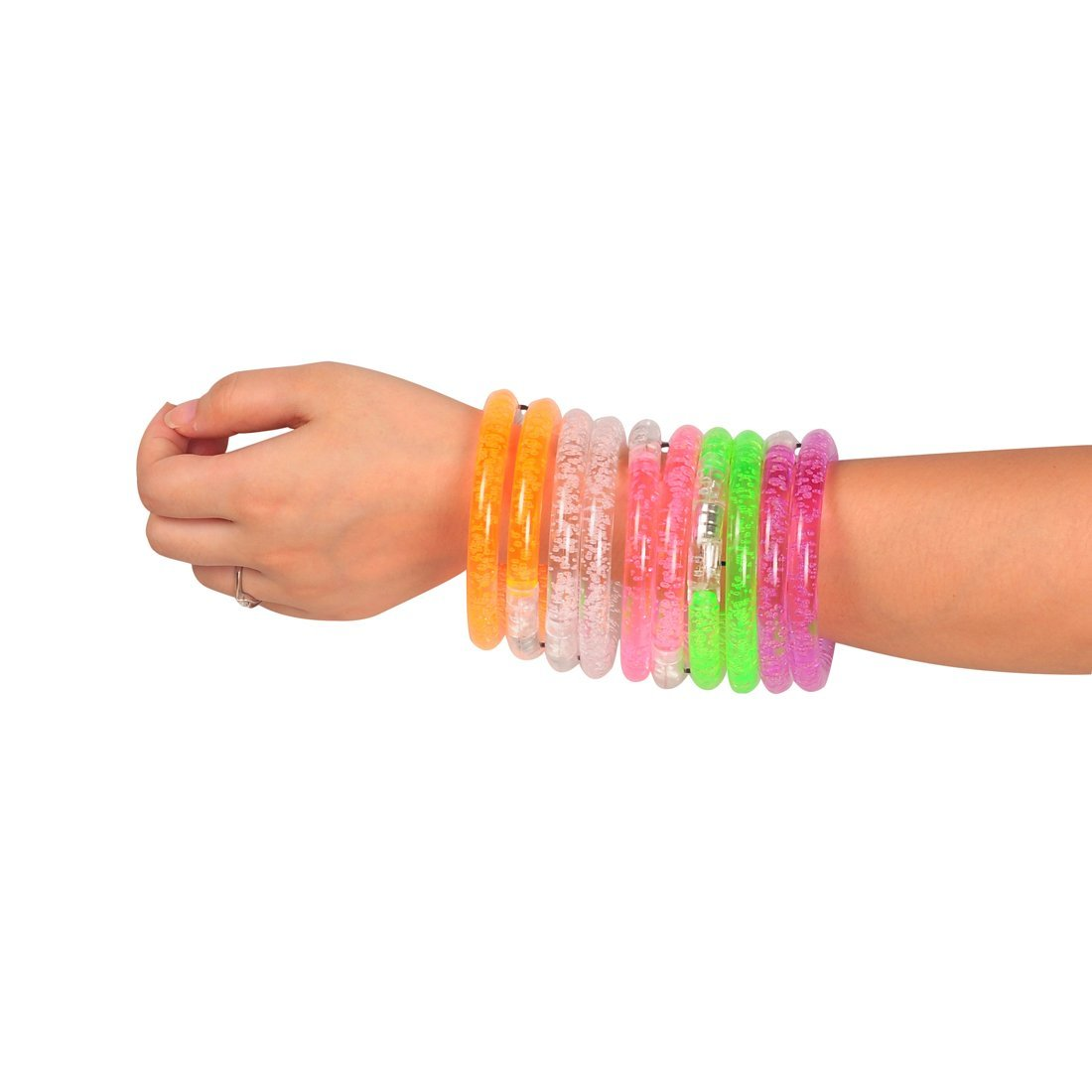 led bracelet party glow in the dark
