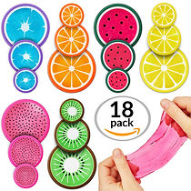 SLIME KIT STRESSRELIEF BULK TOYS BIRTHDAY PARTY FAVOR CLEAR PUFFY