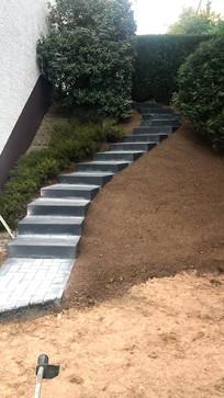 Außen Gartentreppe
