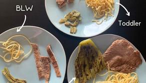 ¿Cómo presentar los alimentos en diferentes etapas?