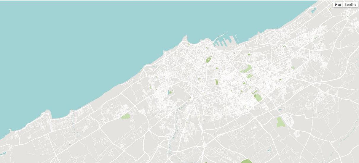 Carte interactive de Marseille -