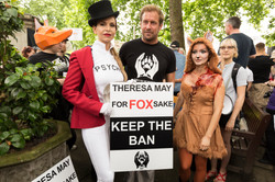 Keep The Ban Protest March
