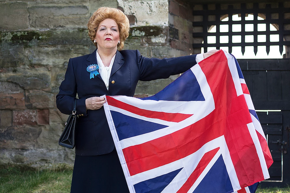 Lesley Smith as Margaret Thatcher