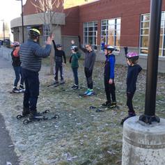 181120 T-Team - rocking ski to ski pract