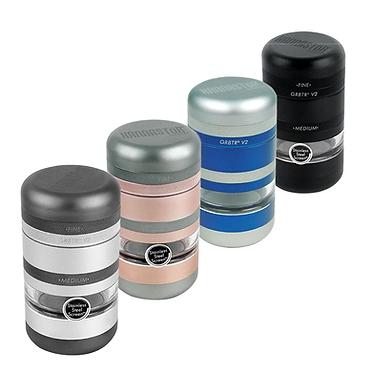 Kannastör GR8TR V2 Series Jar Grinder - Screen Chamber and Stainless Easy Change