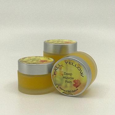 Fall Yellow - Natural Herbal Salve w/ Nano Hemp for Deep Muscle Pain