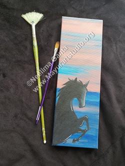 Horse @sunset