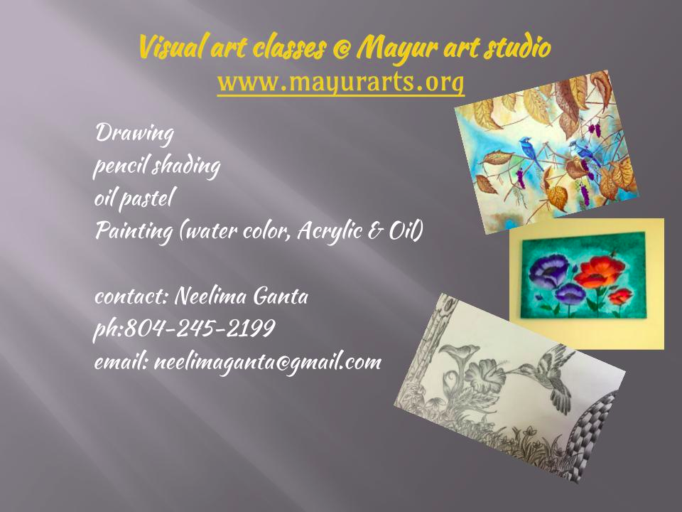 Mayur art studio--Visual art classes