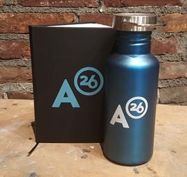 Alloy26 Journal & Bike Bottle