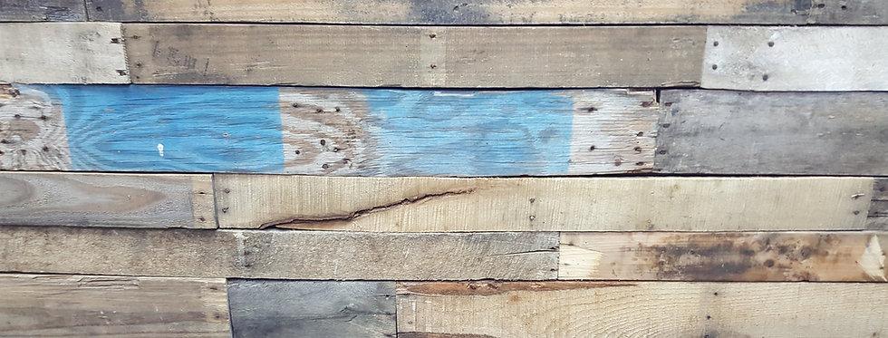 Armory Print Works - wood wall