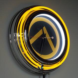 Armory Print Works Clock