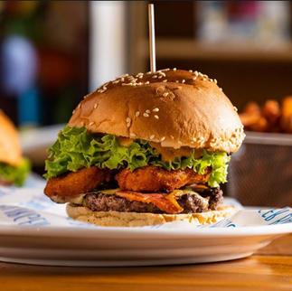 Buffalo Blue Burger (Hot or Mild) - $17