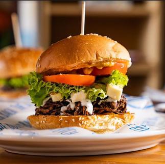 Bhaji Burger -$14.5
