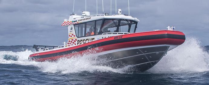 """Marine Rescue Albany's vessel """"Rescue 1"""""""