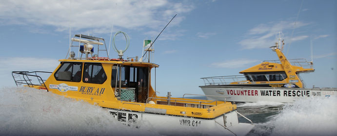 Two Rescue Vessels in transit to attend an incident