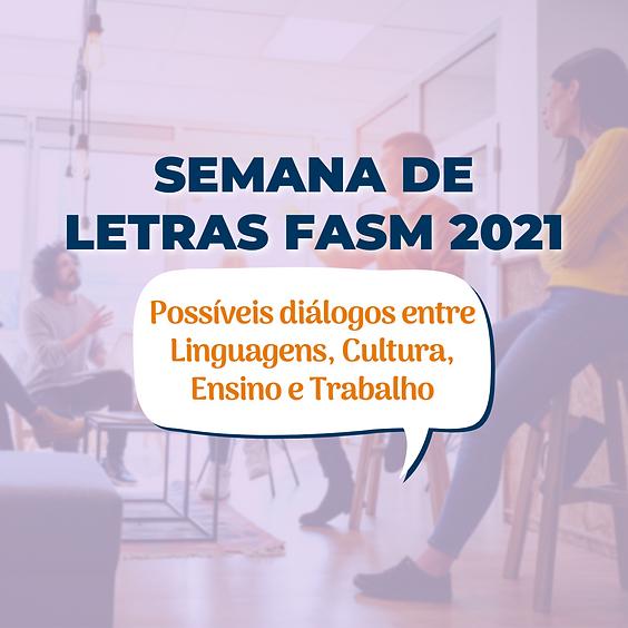 Semana Acadêmica de Letras FASM 2021