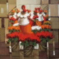 quadro decorativo artista gaucho macelo hubner com flores