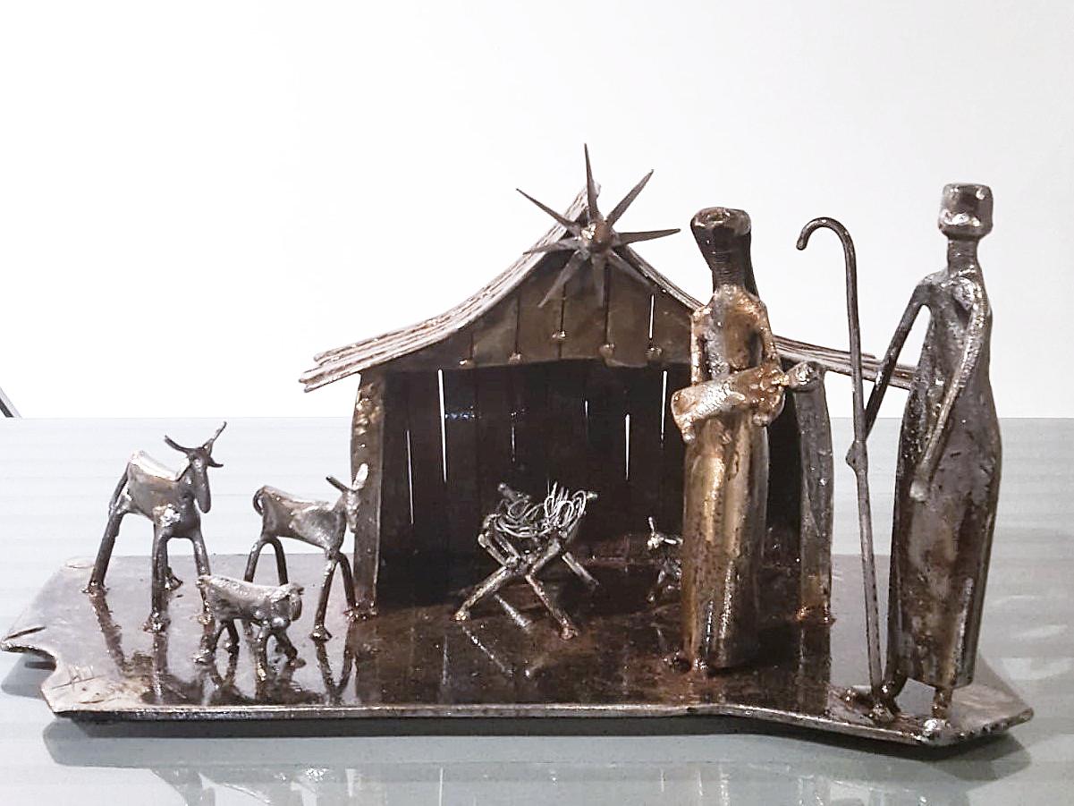 Escultura Edu Mantovani