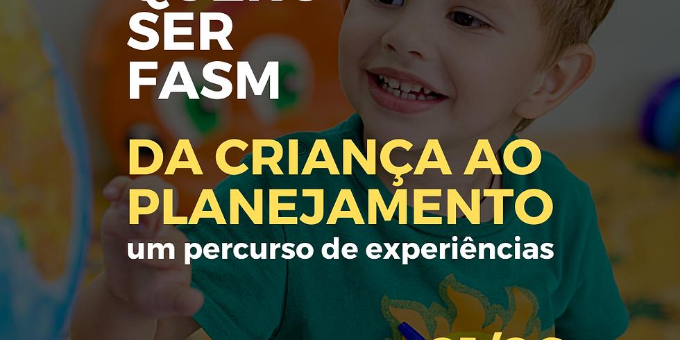 Da criança ao planejamento: um percurso de experiências