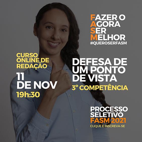 Defesa de um ponto de vista. - Prof. Dr. Thenner Freitas da Cunha