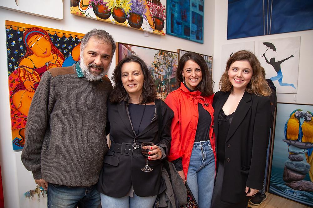 Arte Aplicada na galeria Arte12b, em Gramado.