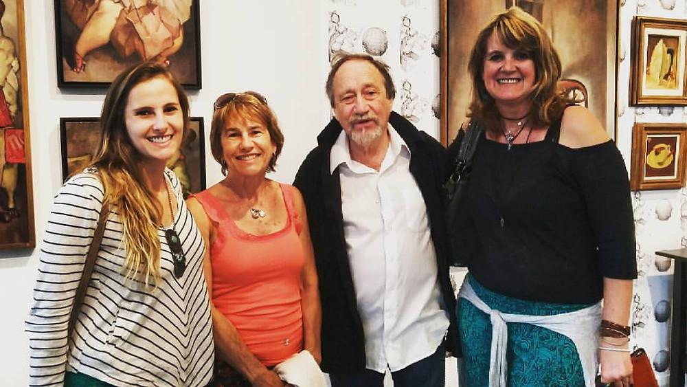 Marina Dal Ponte, Maria Elena Dal Toigo, Juarez Machado e Marilene Zancchett